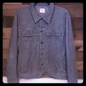 Men's Gray Corduroy Jacket